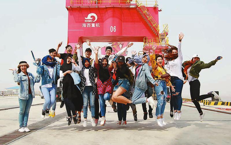 留学生走进射阳县 感受当地特色文化